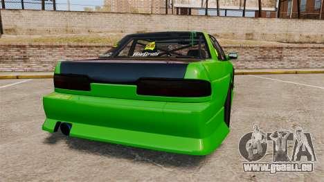 Nissan Silvia S13 pour GTA 4 Vue arrière de la gauche