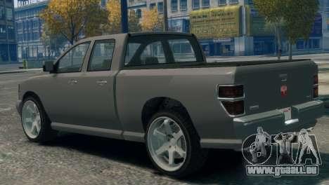 GTA V Bravado Bison für GTA 4 linke Ansicht