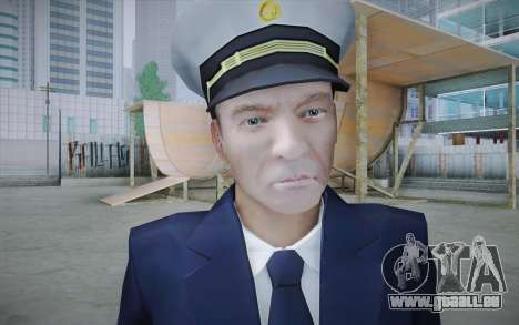 Commercial Airline Pilot from GTA IV pour GTA San Andreas troisième écran