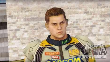 Piers Amarillo no Gorra für GTA San Andreas dritten Screenshot