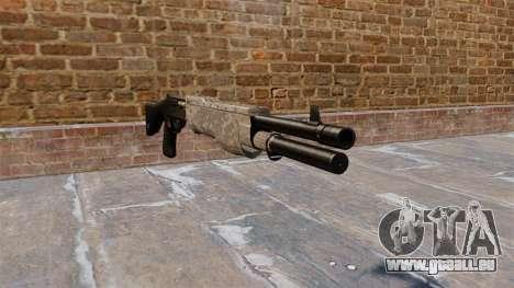 Le fusil de chasse Franchi SPAS-12 ACU Camouflag pour GTA 4