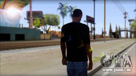 Linkin Park T-Shirt pour GTA San Andreas deuxième écran