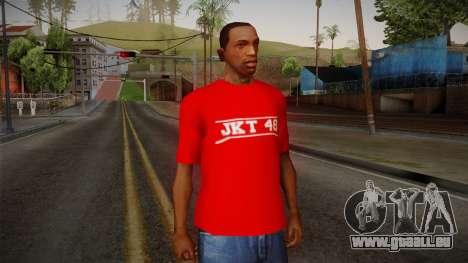 JKT48 Hardcore T-Shirt pour GTA San Andreas