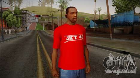 JKT48 Hardcore T-Shirt für GTA San Andreas