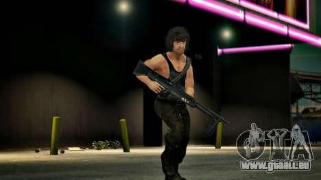 Rambo für GTA 4 Sekunden Bildschirm