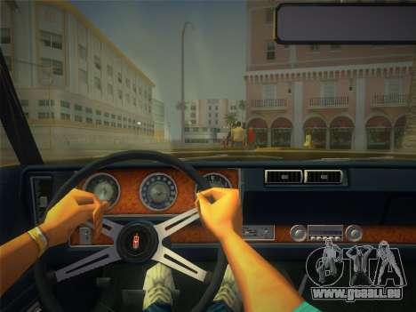 Oldsmobile 442 1970 pour une vue GTA Vice City de la droite