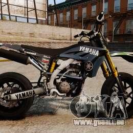 Yamaha YZF-450 v1.17 pour GTA 4 est une gauche