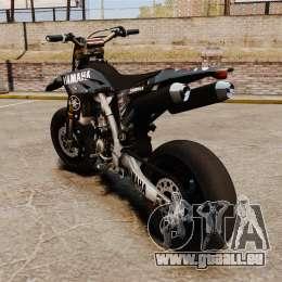 Yamaha YZF-450 v1.17 pour GTA 4 Vue arrière de la gauche