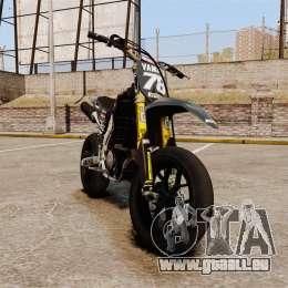 Yamaha YZF-450 v1.17 pour GTA 4