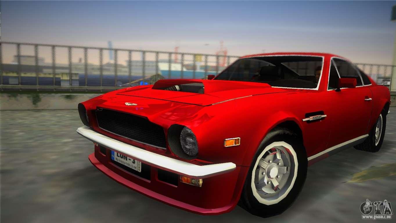 Aston Martin V8 Vantage 1970 Für Gta Vice City