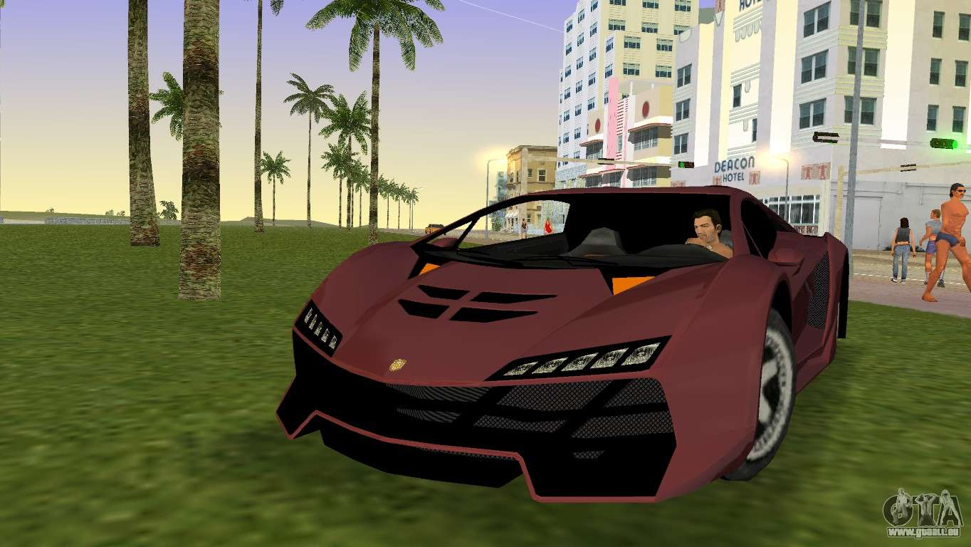 Zentorno From Gta 5 V2 Pour Gta Vice City