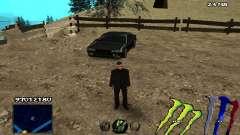C-HUD Monster Energy für GTA San Andreas