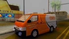Toyota Hiace TNT Cargo Van 2006