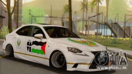 Lexus IS350 FSport 2014 Hellaflush für GTA San Andreas