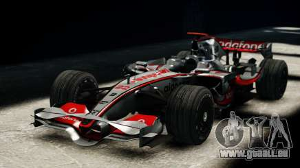 McLaren MP4-23 F1 Driving Style Anim pour GTA 4