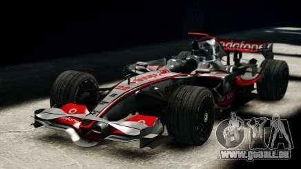 McLaren MP4-23 F1 Driving Style Anim für GTA 4