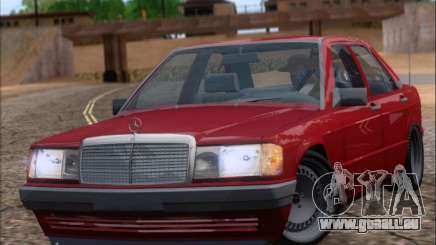 Mercedes Benz 190E Drift V8 pour GTA San Andreas