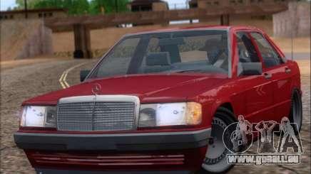 Mercedes Benz 190E Drift V8 pour GTA San Andreas