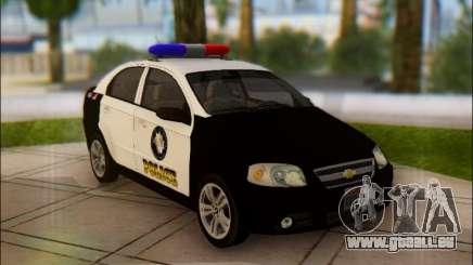 Chevrolet Aveo Police pour GTA San Andreas