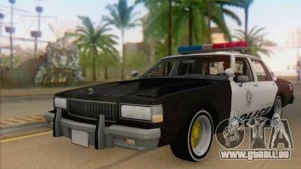 Chevrolet Caprice 1987 pour GTA San Andreas