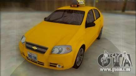 Chevrolet Aveo Taxi pour GTA San Andreas