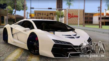 Pegassi Zentorno from GTA 5 v3 pour GTA San Andreas