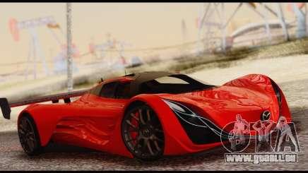 Mazda Furai 2008 für GTA San Andreas