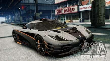 Koenigsegg One v2.0 pour GTA 4