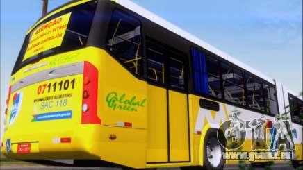 Прицеп Neobus Mega BHNS Volvo B12-340M für GTA San Andreas