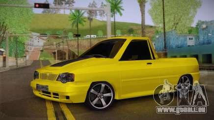 Kia Pride 132 pour GTA San Andreas