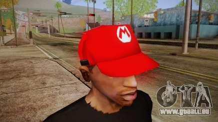 Super Mario Cap für GTA San Andreas