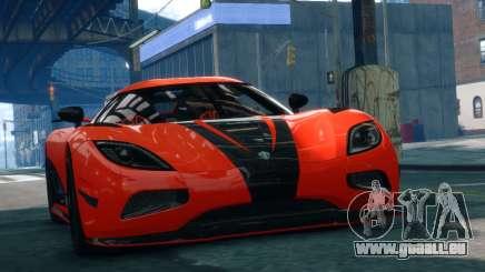 Koenigsegg Agera R 2013 für GTA 4