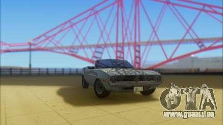 Plymouth Cuda 1970 Stock pour GTA San Andreas