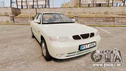 Daewoo Nubira I Sedan CDX PL 1997 pour GTA 4