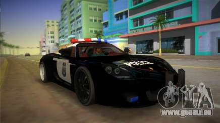 Porsche Carrera GT Police für GTA Vice City