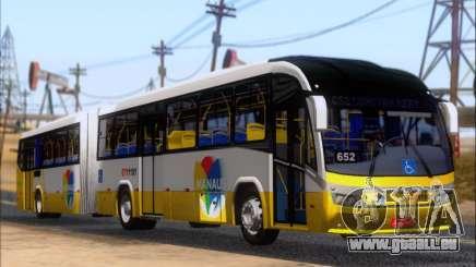 Neobus Mega BRT Volvo B12M-340M für GTA San Andreas