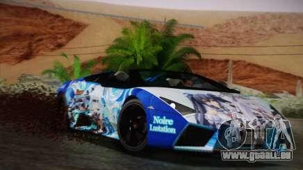 Lamborghini Reventon Black Heart Edition pour GTA San Andreas