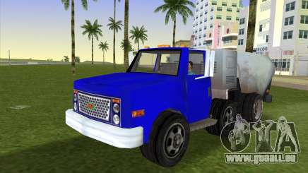 Le nouveau camion à ordures Bêta pour GTA Vice City