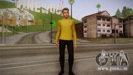 James T. Kirk From Star Trek pour GTA San Andreas
