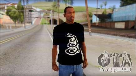 Metallica Logos T-Shirt für GTA San Andreas