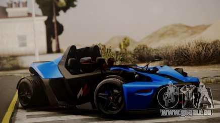 KTM X-Bow R 2011 für GTA San Andreas