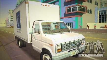 Ford E-350 1988 Cube Truck für GTA Vice City