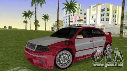 Skoda Superb Tuned pour GTA Vice City
