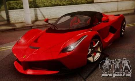 Ferrari LaFerrari F70 2014 pour GTA San Andreas vue de droite