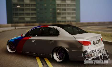 BMW M5 E60 Stance Works für GTA San Andreas linke Ansicht