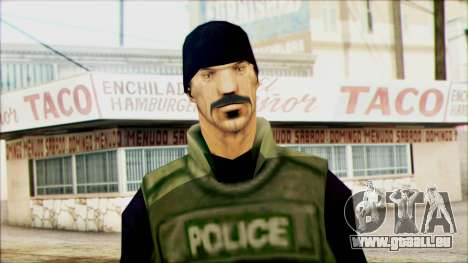 SWAT from Beta Version für GTA San Andreas dritten Screenshot