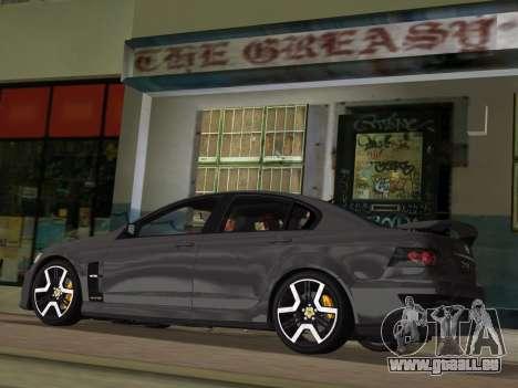 Holden HSV GTS 2011 für GTA Vice City Räder
