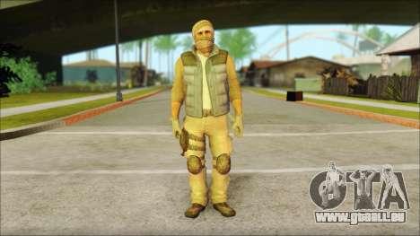 Arabian Resurrection Skin from COD 5 pour GTA San Andreas