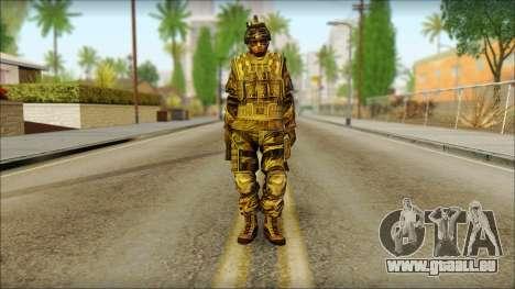 Les soldats de l'UNION européenne (AVA) v5 pour GTA San Andreas