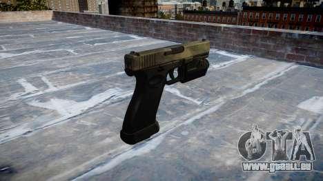 Pistole Glock 20 ein tac-au für GTA 4 Sekunden Bildschirm